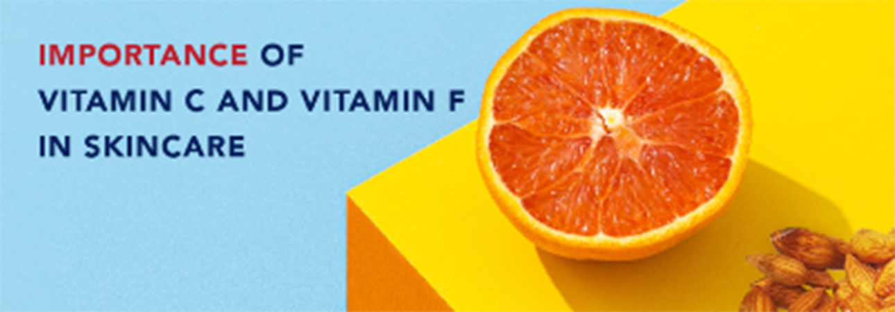 Different types of Vitamins in Skincare